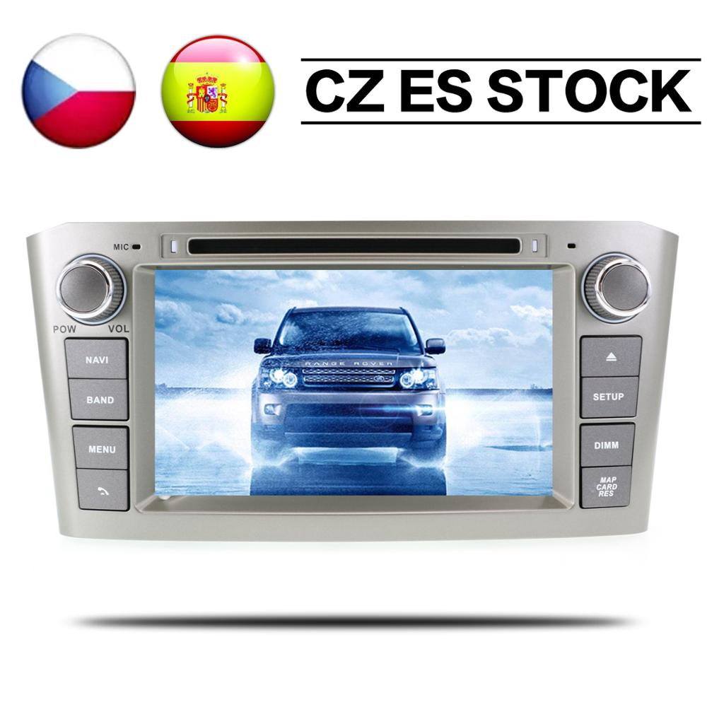 Android 8.1 Radio Stereo GPS For Toyota Avensis 2002 2003 2004 2005 2006 2007 2008 Car DVD Player navigation Multimedia Auto IPS image