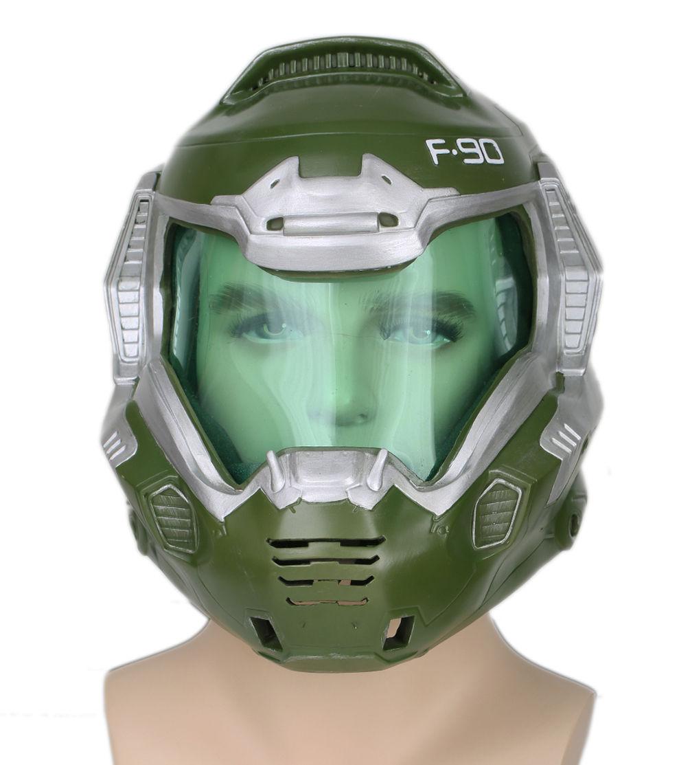 Xcoser Doom Doomguy Helmet Deluxe Version Cosplay Mask Halloween