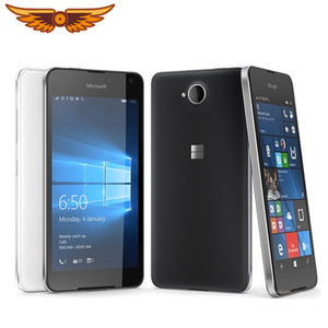 Original Unlocked Nokia Lumia 650 Quad Core 5.0 Inch 16GB ROM 1GB RAM 8MP LTE Windows Mobile NFC FDD Touchscreen Mobile Phone