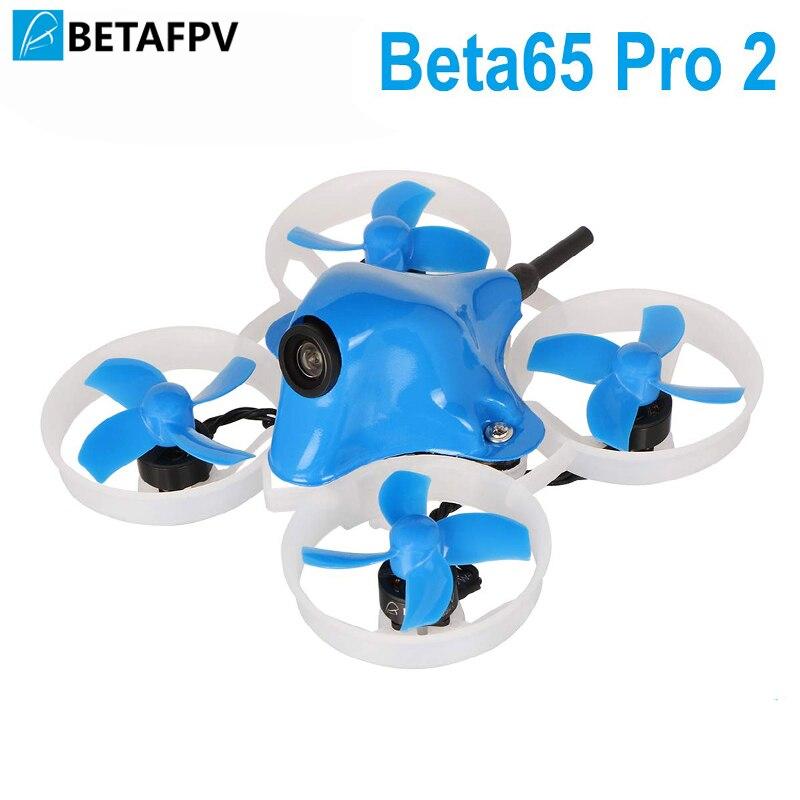Beta65 Pro 2 2 S Drone sans brosse avec 2 S F4 AIO FC 5A ESC 25 mW Z02 caméra 35 degrés OSD Audio intelligent 17500KV 0802 moteur