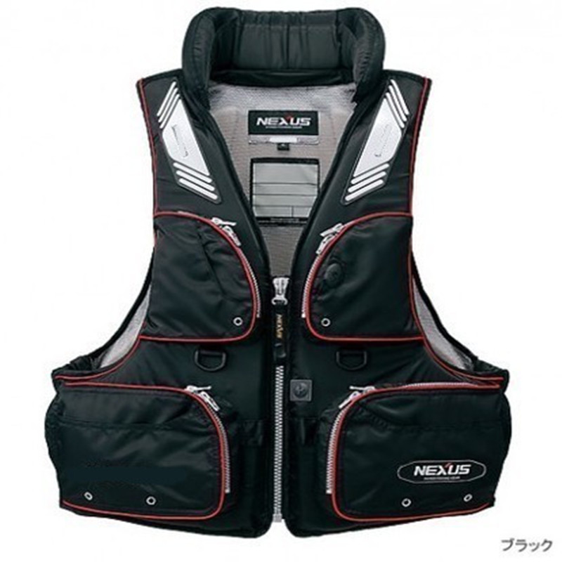 2019 Brand Professional Fishing Vest Outdoor Life Vest For Fishing Breathable Waterproof Fishing Life Jacket Roupa