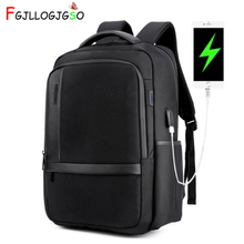Men 15.6inch Computer Bag Pack External USB Charging Port Waterproof Laptop Backpack Anti Theft Backpack Travel Notebook Mochila