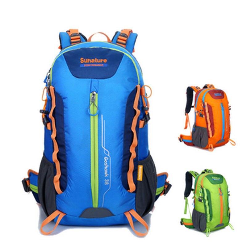 Stent sac à dos de voyage en plein air anti-déchirure nylon Oxford professionnel sac à dos de cyclisme Camping randonnée sac de voyage