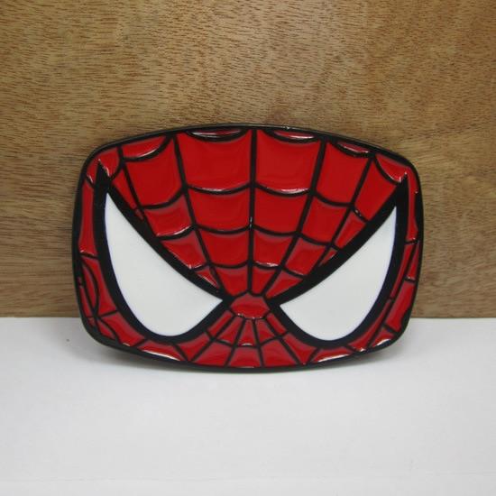 Zinc alloy Superhero The Avengers marvel <font><b>spider</b></font> <font><b>man</b></font> <font><b>belt</b></font> <font><b>buckle</b></font>