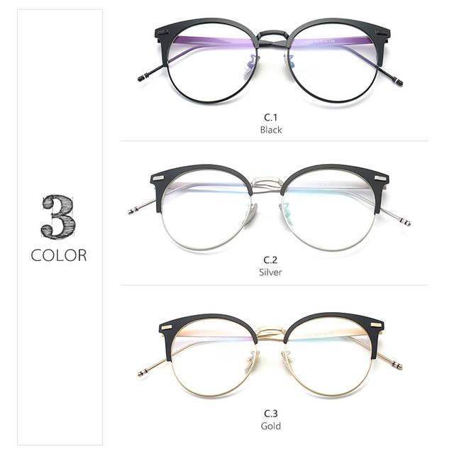 b28cf0587a Badtemper Black Silver Gold Transparent Glasses Frame for Women Men Reading  Fashion Frames Simple