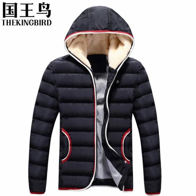 Casacos de inverno dos homens casaco de algodão Outono e inverno novo Com Capuz de Lazer Roupas de Algodão coreano de Slim jaqueta de algodão Curto