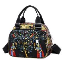 2019 Women Designer Messenger Bags for Women Waterproof Nylon Handbag Female Shoulder Bag Ladies Crossbody Bags Bolso sac a main цена в Москве и Питере