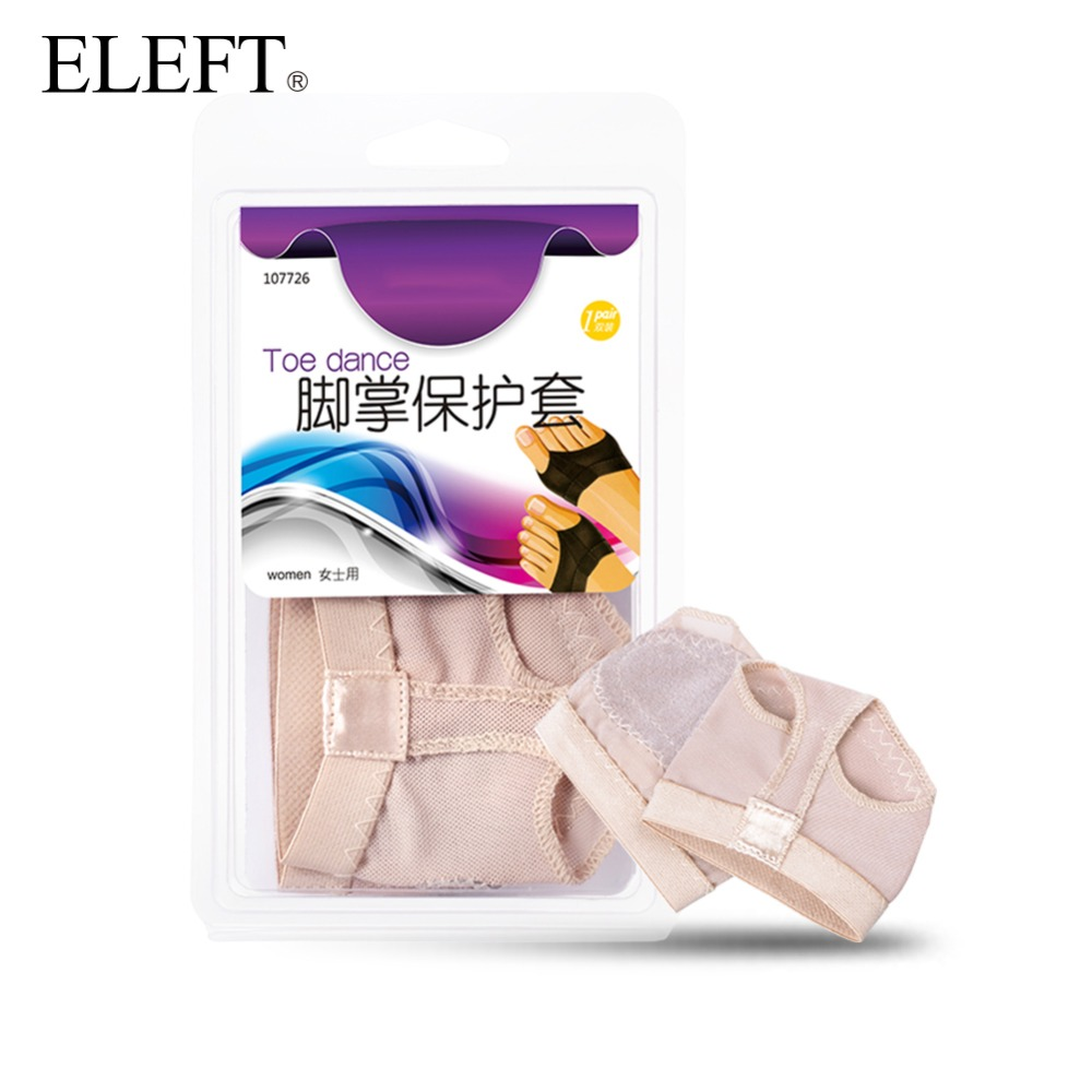 ELEFT Foot care belly ballet pads foot thong protection dance socks with toes separator costume gaiters accessories&insoles new arrival ballet dance accessory silica gel booties protective toe pad ballet toes dance feet care protector care 2 pairs lot