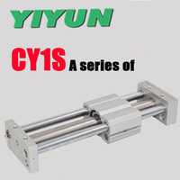 Yiyun Magnetically Coupled Rodless Cylinder CY1S15 100 CY1S15 200 CY1S15 300 CY1S15 400 CY1S15 500 CY1S15 600 CY1S15 700 800