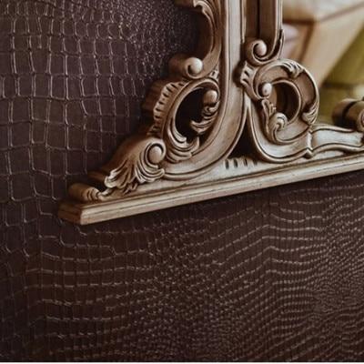 Dark Brown Modern 3D PVC Embossed Crocodile Pattern Wallpaper Roll 10m papel de parede DZK123 сумку элеганза z34 12085 d brown