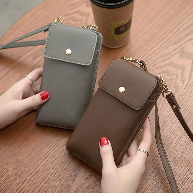 High Quality Women Crossbody Bags Small Female Bag Pu Leather Women Messenger Bags Mini Bag Phone Pocket WWS152