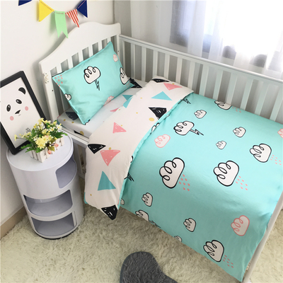 3PCS Newborn Baby Bed sheets Crib Quilt Cover infant Baby Cot Bedding 100% cotton,(Duvet Cover+Sheet+Pillowcase)3PCS Newborn Baby Bed sheets Crib Quilt Cover infant Baby Cot Bedding 100% cotton,(Duvet Cover+Sheet+Pillowcase)