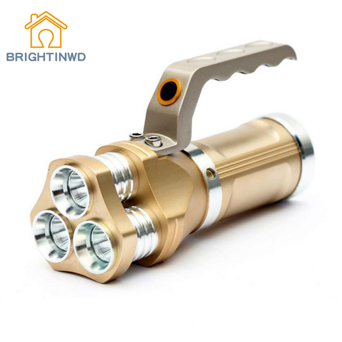 BRIGHTINWD Powerful Portable LED Flashlight T6 5 Modes Torch Powerful Camping Hunting Lamp Torch Flashlight Camping Lamp 10t6 2000 lumen 10 cree xml t6 led light ultra bright flashlight portable 5 modes powerful led flashlight torch camping hunting