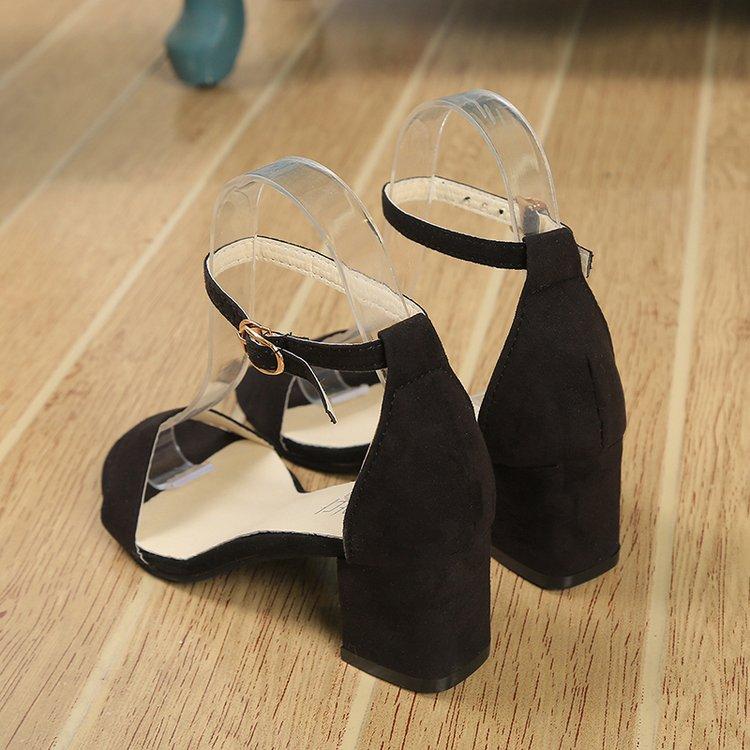 black Mode Pompes gray A004 White De 34 Mujer Talons La 2018 Automne Robe Plus Chaussures Femmes New Sandales Taille 40 Suumer Daim Pu Casual Haute qBISwgO