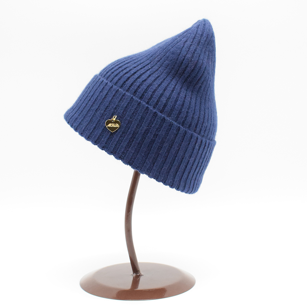 12 Color European Women Winter wool Beanie hat Very soft Knit caps Fashion Lady casual solid