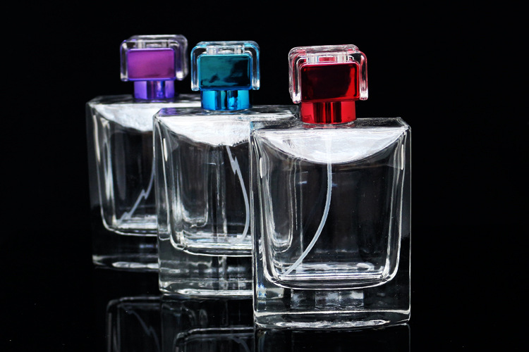 DHL Free 10pcs/lot Polished Glass Perfume Bottle Design 100ml Empty Parfum Atomizer Container With Sarin Cap High Quality packa dhl free 100