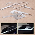 Hotsale! Tracking # NEW 4PCS ABS Chrome Car Interior Door Window Switch Panel Trim Cover For Honda CR-V CRV 2012 2013 2014 2015