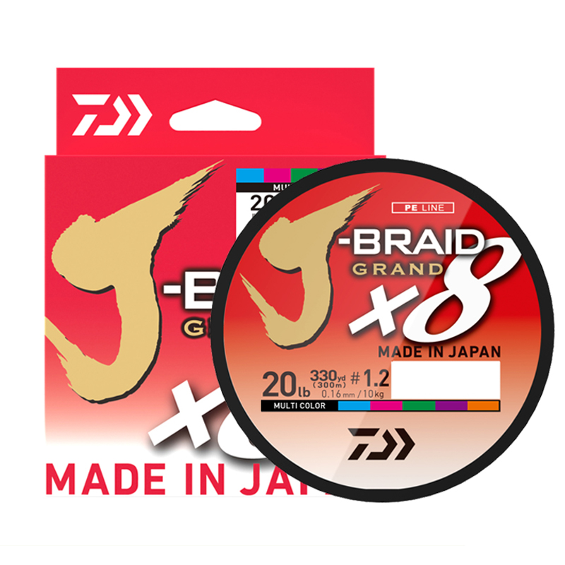 Image 2 - The Best Price 300M DAIWA J BRAID GRAND Braided PE Line Super Strong Japan Monofilament Braided Fishing Line Wholesale-in Fishing Lines from Sports & Entertainment