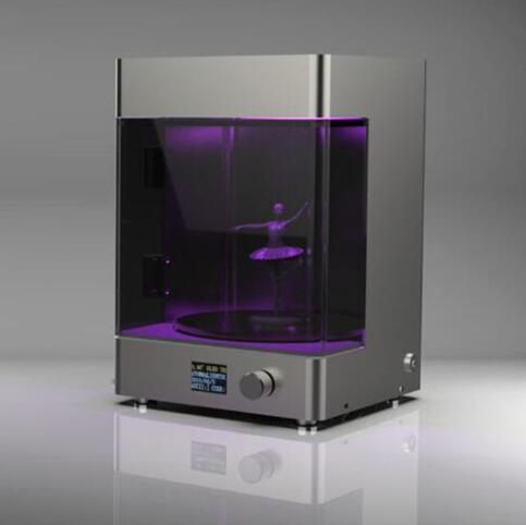 Desktop 3D printer led rotary curing box chamber new UV rapid prototyping post curing resin curing