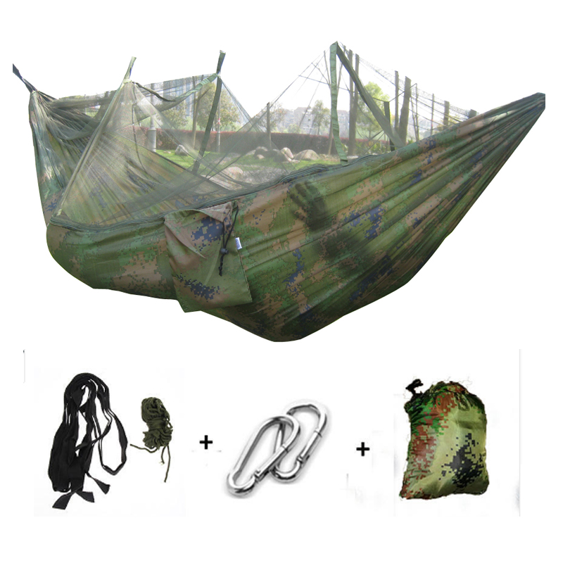 Portable  Mosquito Net Travel Camping Outdoor Hammock Hanging Nylon Bed + Mosquito NetPortable  Mosquito Net Travel Camping Outdoor Hammock Hanging Nylon Bed + Mosquito Net