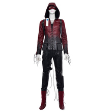 2017 New Arrival Green Arrow Scud Thea Quinn Cosplay Costume Wowen's Outfit Factory Price