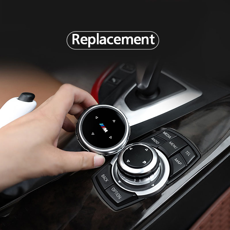 Car Interior Multimedia Buttons Cover Accessories For BMW 1 2 3 4 5 7 Series X1 X3 X4 X5 X6 F30 F10 F15 F16 F34 F07 F01 E70 E71