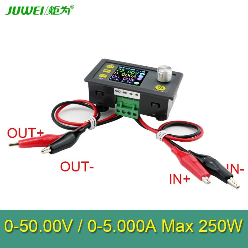 50 V 5A 250W LCD muundur Reguleeritava pinge arvesti regulaator - Mõõtevahendid - Foto 6