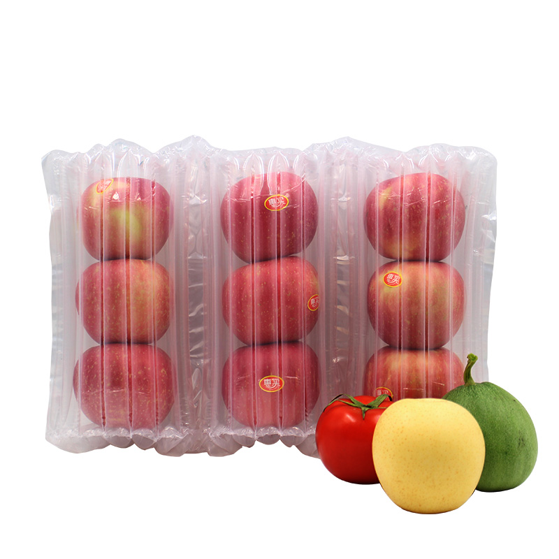 Apple Pear Melon Peach Orange Fruit Packaging Roll Film Falling Protection Column Bag Buffer Inflatable Bubble Balloon Air in Storage Bags from Home Garden