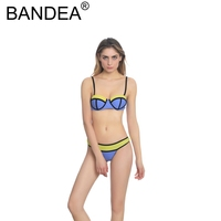 BANDEA Bikini 2017 Summer Hot New Sexy Low Waist Underwire Bikinis Women 2017 Bikini Push Up
