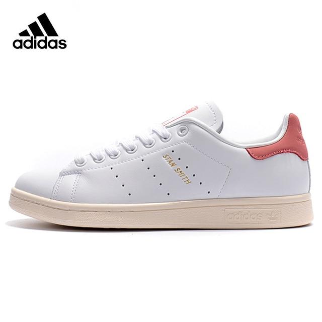 2f1549de000b Original Authentic Adidas Clover STAN SMITH Men and Women Skateboarding  Shoes Wear-resistant Lightweight Breathable