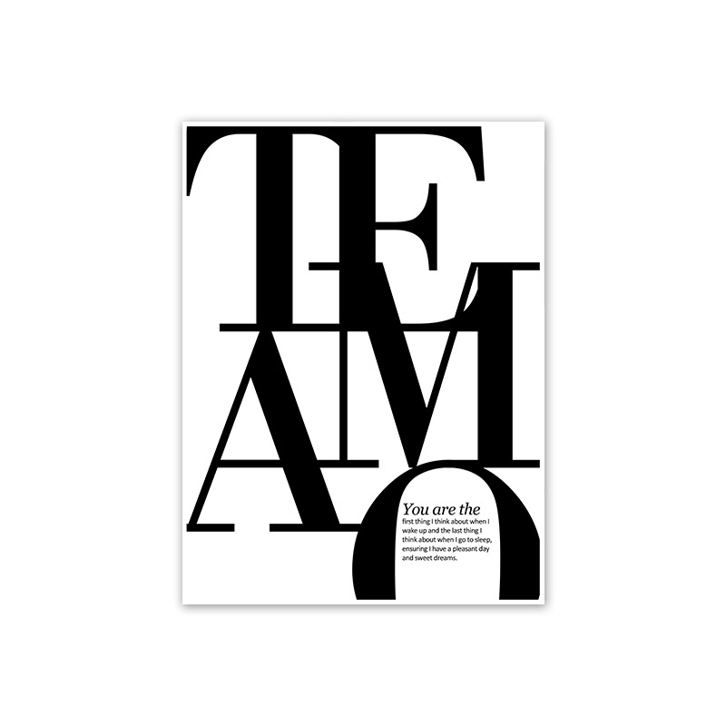 HTB1t7duegaH3KVjSZFjq6AFWpXad Scandinavian Style Love Poster Black and White Canvas Painting Amore Wall Pictures For Living Room Nordic Decoration Home Art