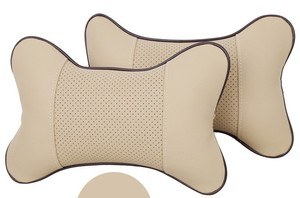 Image 2 - Car Cushion headrest  Car headrest neck auto neck headrest super fibre leather headrest auto supplies auto upholstery