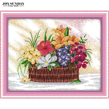 Blossoms scent the air cross stitch kit 14ct 11ct counted printed stitch cross embroidery needlework diy dmc new year home decor red rose on the table painting counted 11ct 14ct cross stitch wholesale diy cross stitch kit embroidery needlework home decor