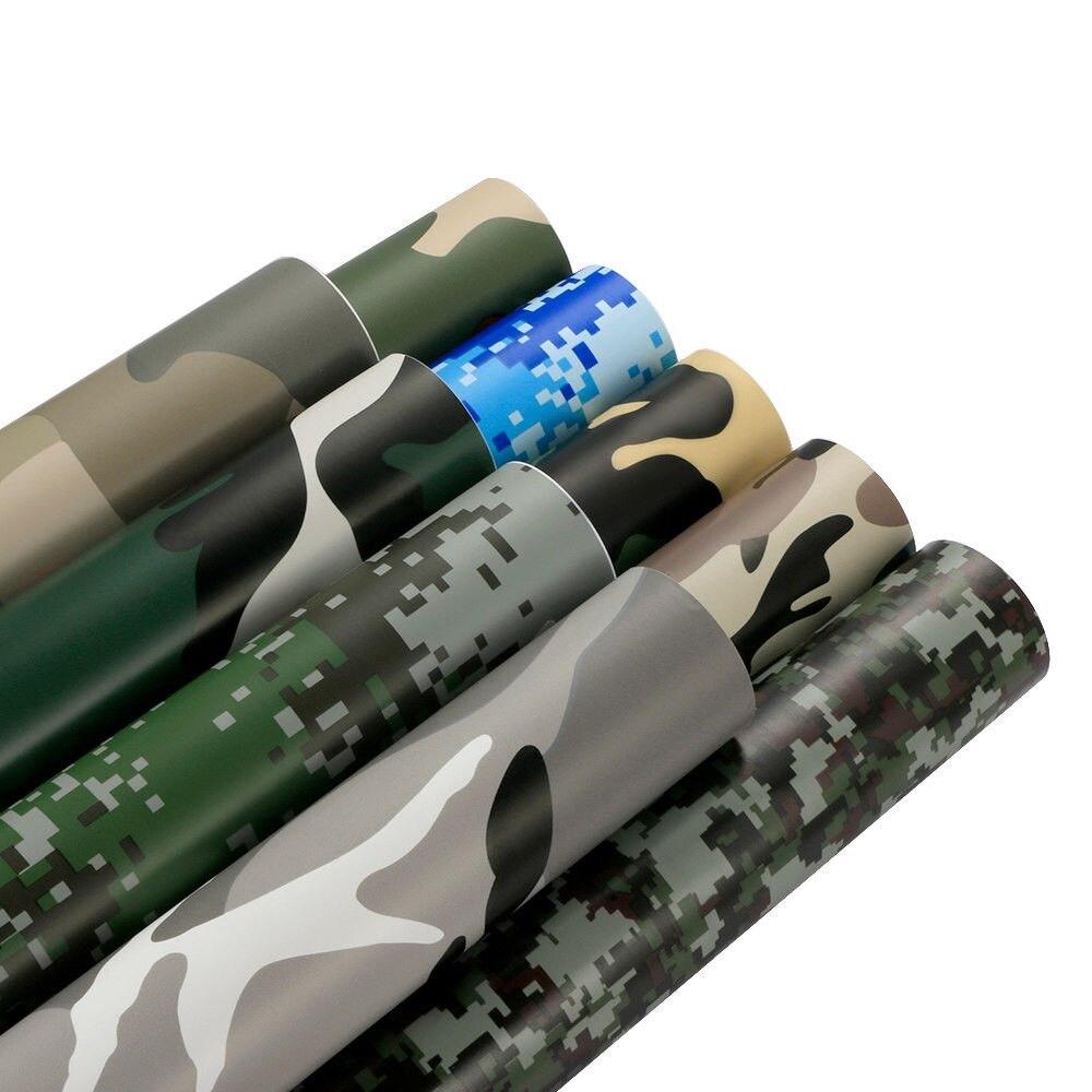 Armée Camouflage désert vinyle pellicule de film véhicule autocollant bulle d'air décorer Auto-voiture améliorer la Protection étanche décalcomanies