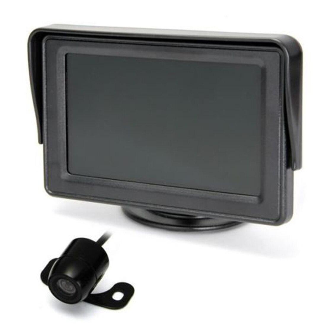 Marsnaska brand new 4.3 pouces TFT Voiture Écran LCD Sans Fil Vue Arrière Moniteur Caméra De Recul De Sauvegarde