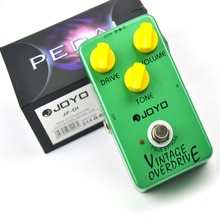 JF-01 Vintage Overdrive Electric Guitar Effect Pedal with True Bypass