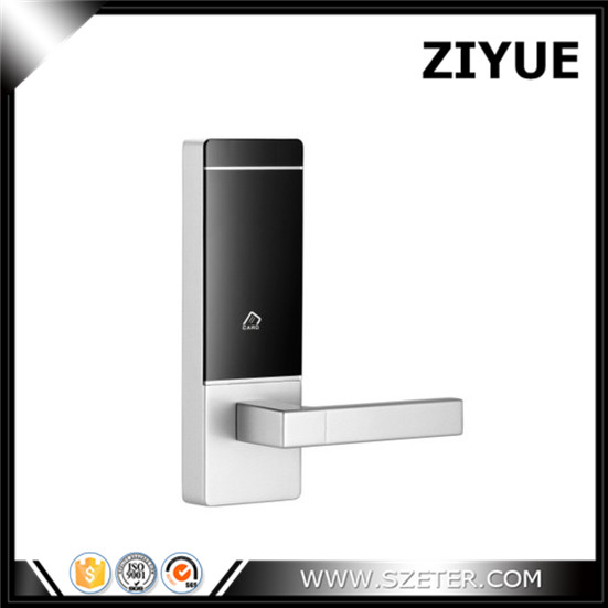2017 Super Quality RFID Security  Hotel Home Office Door Lock for thin door single latch 50mm 60mm   ET958RF digital electric best rfid hotel electronic door lock for flat apartment