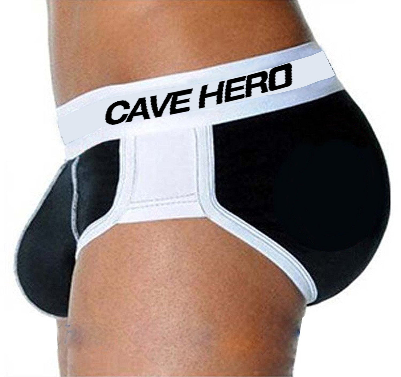 7ac915d37 100% Cotton butt lifter Men s boxers Underwear butt enhancer Men underwear  with padded butt plug Enhancement Cream-in Boxers from Underwear    Sleepwears on ...
