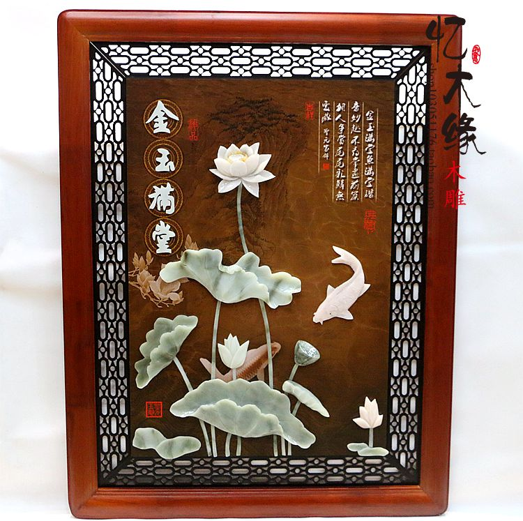The entrance of decorative paintings vertical version of jade carving Chinese living room bedroom bedside wall single stereo fra more colors violin soft case 4 4 a make violino velvet box backpack waterproof canvas safety light protection gig fiddle