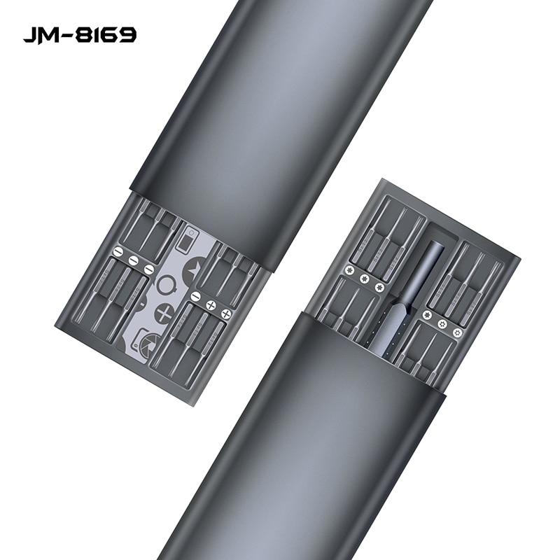 JAKEMY 49 em 1 Precisão Conjunto Chave De Fenda Torx Bits chave de Fenda Magnética para iPhone Smartphone Laptop Ferramentas de Reparo Eletrônico