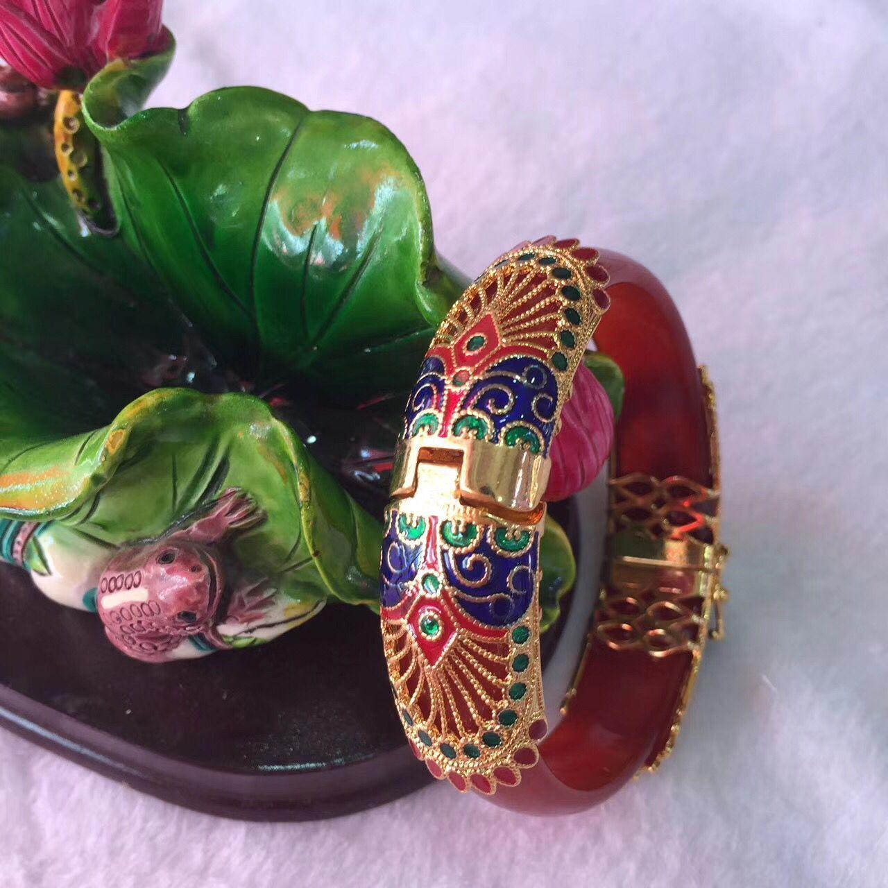 Koraba bijoux fins meilleur cadeau pour un Bracelet de femmes élégant, un Bracelet Design incrusté d'agate naturelle livraison gratuite