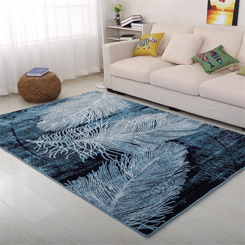 Tapis Jacquard moderne décor à la maison chambre tapis canapé tapis salon Table basse tapis étude tapis de sol épais tapis