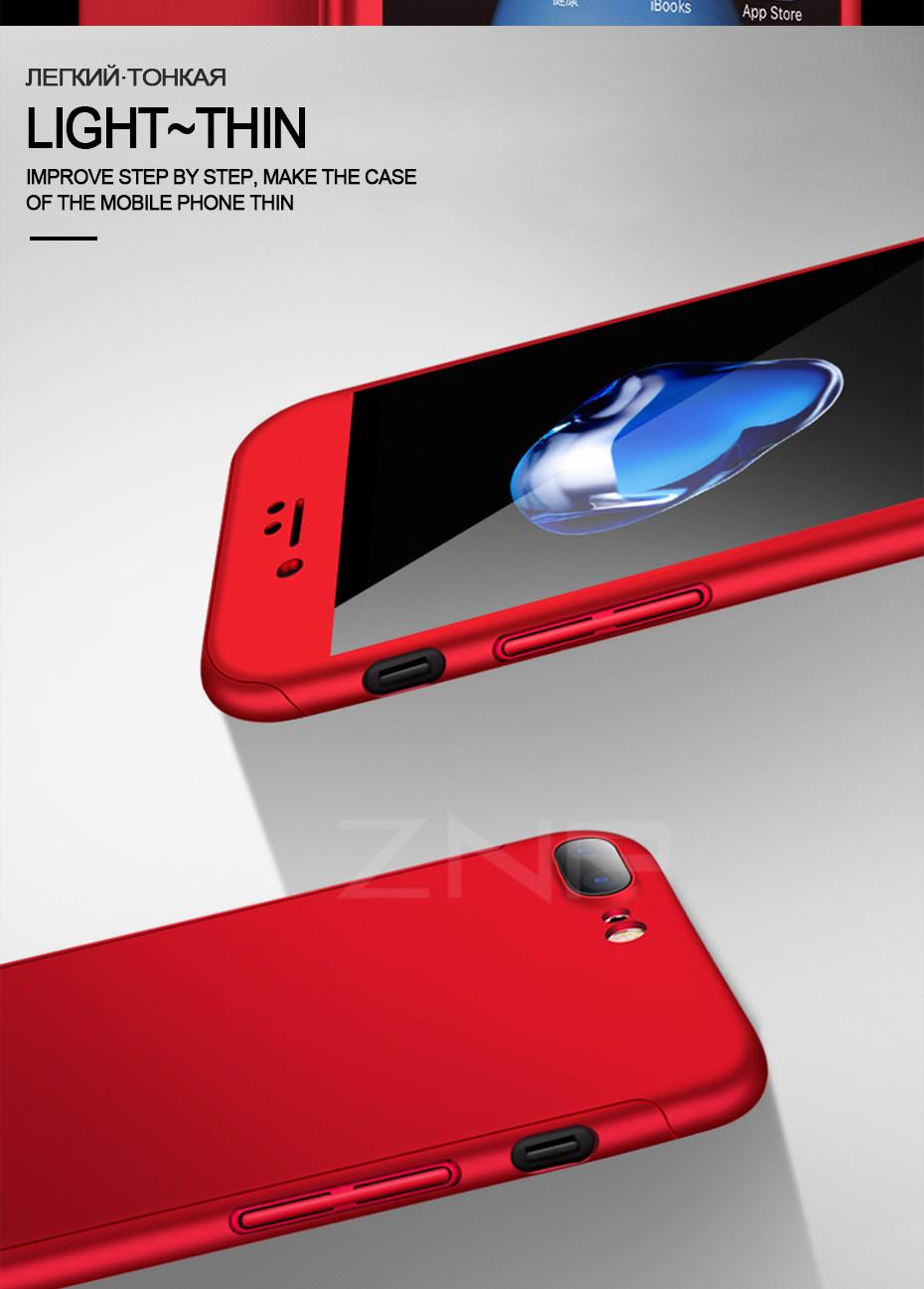 знп Роско жесткий 360 полное покрытие костюм чехол для айфона 8 7 6 плюс 6 s телефон чехлы для iPhone 6 и 6с 7 8 чехол с весы стекло