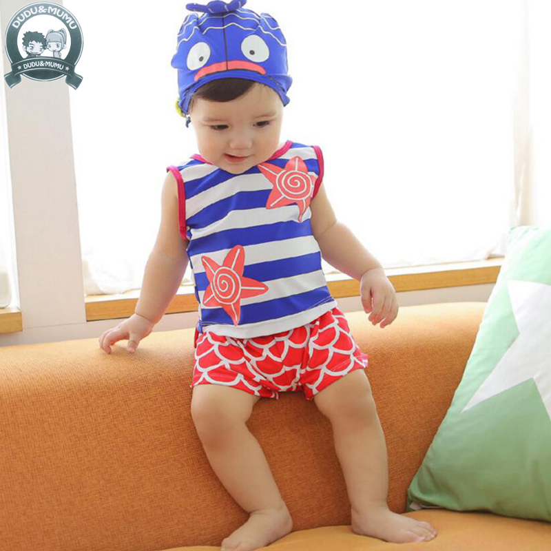 Make a splash with the full selection of baby boy swimwear and toddler swimwearfrom Kohl's. At Kohl's, you'll find everything you need for your child's day at the beach or pool! Whether you're looking for baby swim tops, bottoms, or complete baby swim sets, Kohl's has the perfect warm-weather look baby .