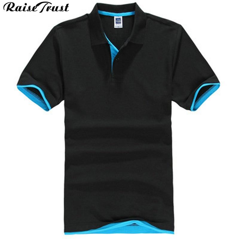 c6fec82341 Nowy lato 2019 moda proste czyste top mężczyźni hot sprzedam polo koszula z krótkim  rękawem odzież para plus size XS-XXXL klasyczny dorywczo