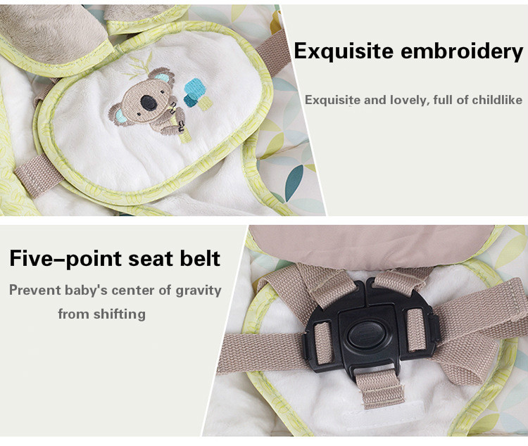 HTB1t7fLaQY2gK0jSZFgq6A5OFXa2 EU safety baby rocking chair 0-3 baby Electric cradle rocking chair soothing the baby's artifact sleeps newborn sleeping