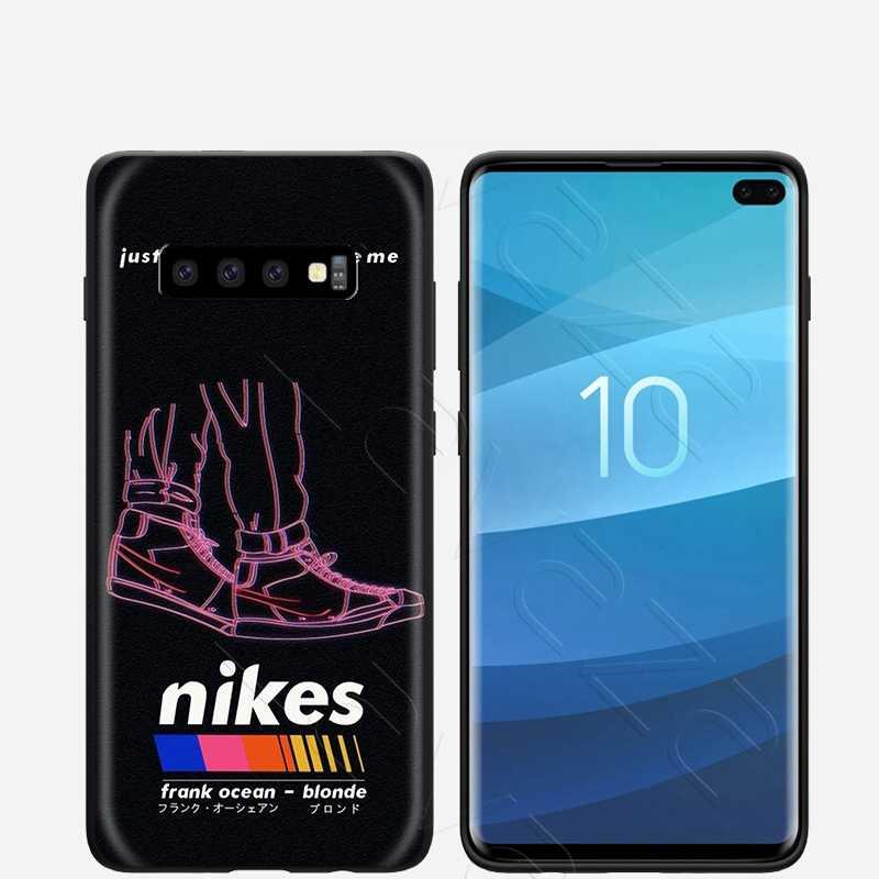 Lavaza Frank Ocean Blonde étui pour samsung Galaxy S6 S7 Bord J6 S8 S9 S10 Plus A3 A5 A6 A7 A8 A9 Note 8 9