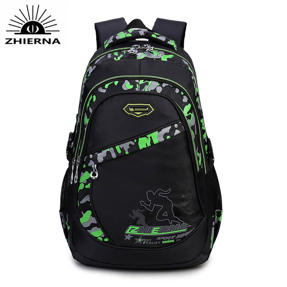 Hot New nylon school bags for teenagers boys camouflage Laptop bag School Backpacks orthopedic backpack high school bag for men 2017 hot sale men 50l military army bag men backpack high quality waterproof nylon laptop backpacks camouflage bags freeshipping