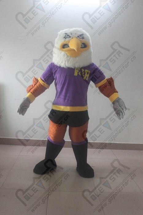 Violet muscle mascotte d'aigle costumes power bird costumes de mascotte Vautour condor