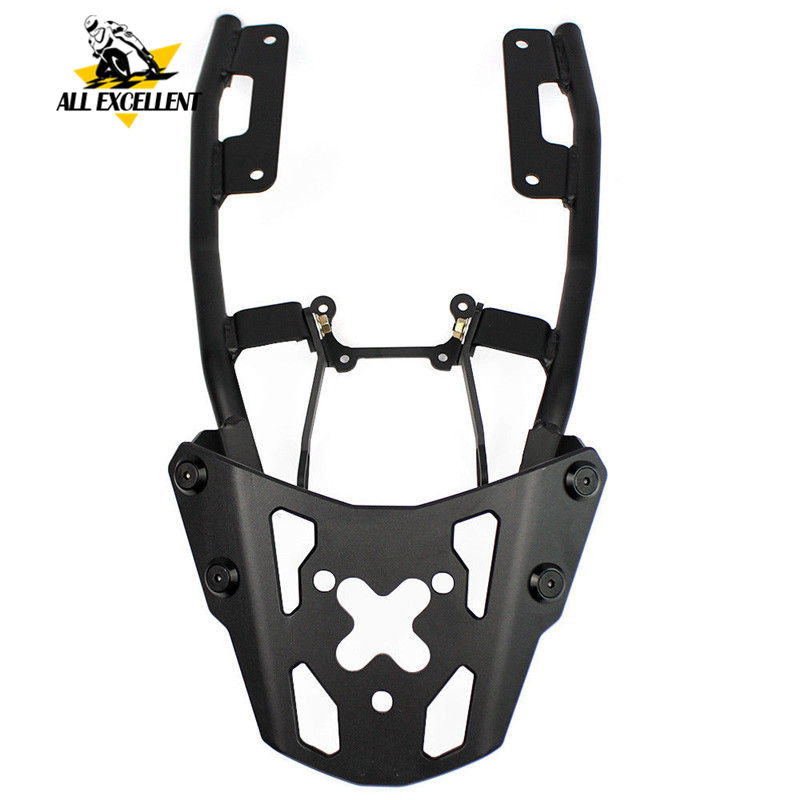 Motorcycle Aluminum Rear Luggage Rear Rack Carrier For 2017 2018 2019 Yamaha FZ09 MT09 FZ-09 MT-09 BLACK COLOR